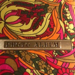 Vintage Accents - Psychedelic Hippie Photo Album